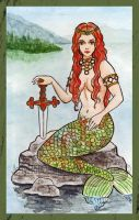 Lady of the Lake Mermaid by JellyRollDesigns