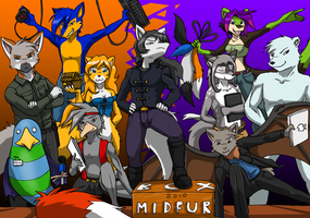 Midfur committee group shot by kitfox-crimson