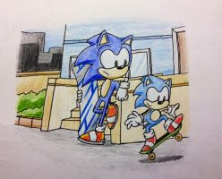City Escape - ''Learning the basics'' by TheJege12