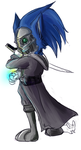 Sonic Attano by BubblesAndTea