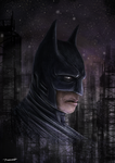 Batman by thesadpencil