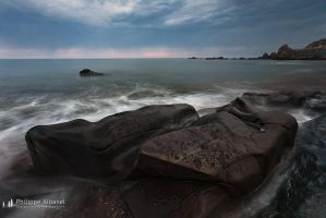 Vendee's Rocks by Philippe-Albanel