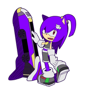 Sonic Riders - Erin with Extreme Gear by Baitong9194
