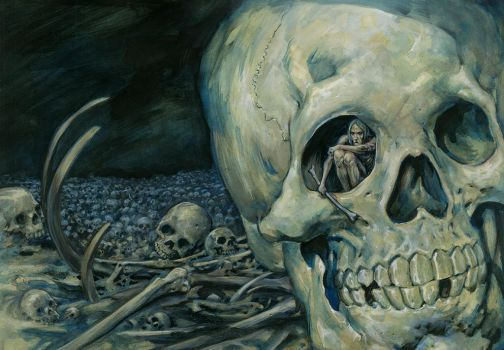 Bone Idle In The Charnel House by Dubisch