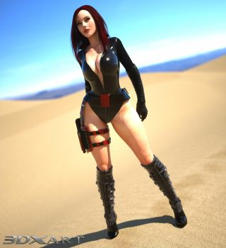 Scarlett Red (Victoria 6 for Genesis 2) by 3DXArt