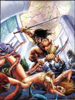 Conan cutting by Jubran
