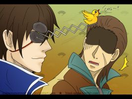 SB: Masamune parodying another Masamune LOL by MasamuneRevolution