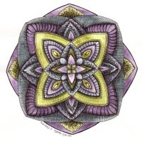 Mandala 3 by Artwyrd