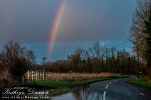 Where Rainbows End by Kaz-D