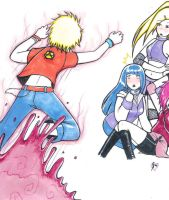 Vamp Naruto Attack: Commission by GaarasBabe