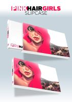 First Stretch Goal: PINK HAIR GIRLS Slipcase by Zatransis