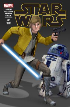 My Star Wars #1 Variant Cover by Brian-Snook
