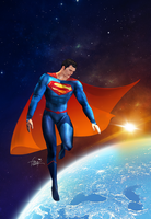 Superman Rebirth07 Tribute by freakyzzang