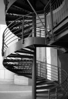 Metal Staircase by LL-stock