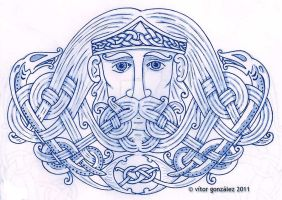 Manannan Mac Lir by twistedstrokes