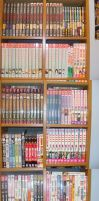 Manga Collection as of 8-08 by Lalikaa