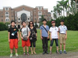 Taiwan University- First Year Group Pic by pallaza