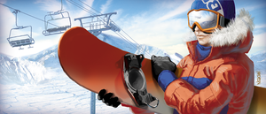 Snowboarder by ncrow