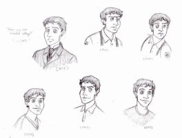 EVT - more early sketches by TMOH