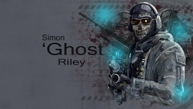 Simon 'Ghost' Riley Wallpaper by StrawberryLuv-32