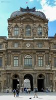 Cour Carree of the Louvre by EUtouring