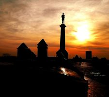Kalemegdan sunset by Piroshki-Photography