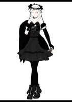 [MMD] Andrea: The Nephilim Ver.2 by ginconomp