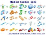 Medical Toolbar Icons by yourmailkept