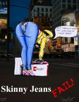 Skinny Jeans FAIL by ImfamousE