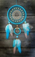 Blue dreamcatcher by Sorochka