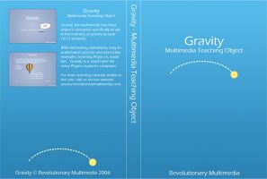 Gravity Tutorial DVD Cover by danbradster
