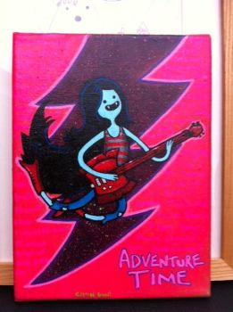 Adventure Time marceline by chaingunchimp