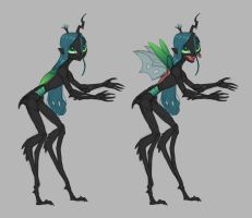 Humanoid bug elves by Siansaar