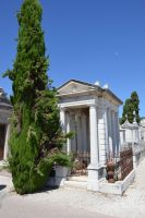 Cemetery in Provence 4 by A1Z2E3R