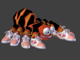 Squitter the spider 3D model by LordBruco