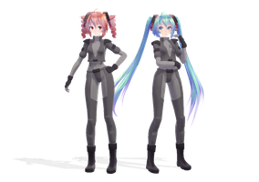 TDA miku,teto Lesson 9 Police.ver [DL INFORMATION] by jangsoyoung