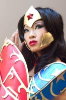 Ame-Comi Wonder Woman Portrait by yayacosplay