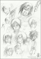 +Old doodles with Sechs+pencil by Marcianek