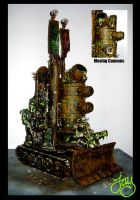 40k Nurgle Plague Tower Painted 1 by JDHerring