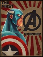 The First Avenger by LuizLope5