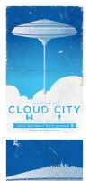 Star Wars, Cloud City travel poster by BurnCreative