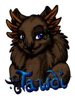 Tawdi Bust Badge by BGArts