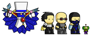 Assorted Scribblenaut Chars 4 by McGenio
