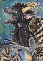 ACEO - Feathered Mist by awaicu