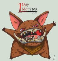 1day 1Monster - day1 - Graillon by Cey-J
