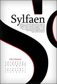 Sylfaen Type Poster by Toothpick-Guy