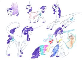 Rarity's timeline by Dawn22Eagle
