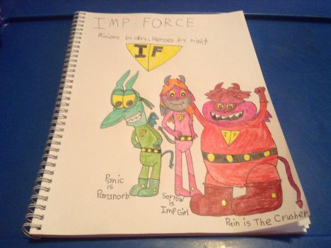 Imp Force colored by BriMG29