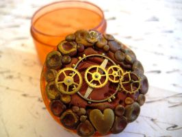 Steampunk Trinket Box by RoyalKitness