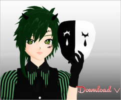 Poker Face Gumi - DL - by kaahgome